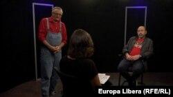 În studioul Europei Libere: Punct și de la capăt