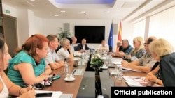 Работна група во министерство за правда за предлог законот за Јавно обвинителство