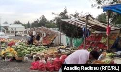Qəbələdə bazar