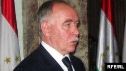 Viktor Ivanov during his visit to Tajikistan