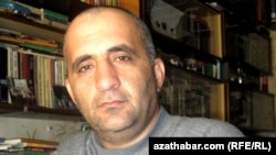 Корреспондент Туркменской редакции Радио «Свободная Европа»/Радио «Свобода» Довлетмурад Язгулиев.