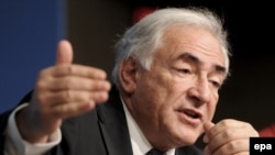 MF Managing Director Dominique Strauss-Kahn (file photo)
