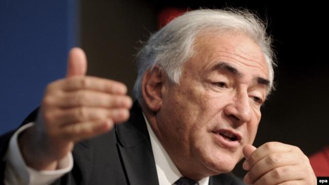 IMF Managing Director Dominique Strauss-Kahn