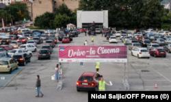 Drive-in kino u Sarajevu privuklo je dosta posjetilaca