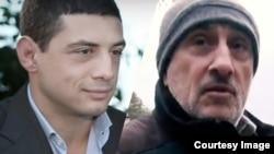 """Слева – Отари Садов (кадр из видеоинтервью изданию World Business Chanel), справа – Леонид Садов, кадр из сюжета телеканала """"Дождь"""""""