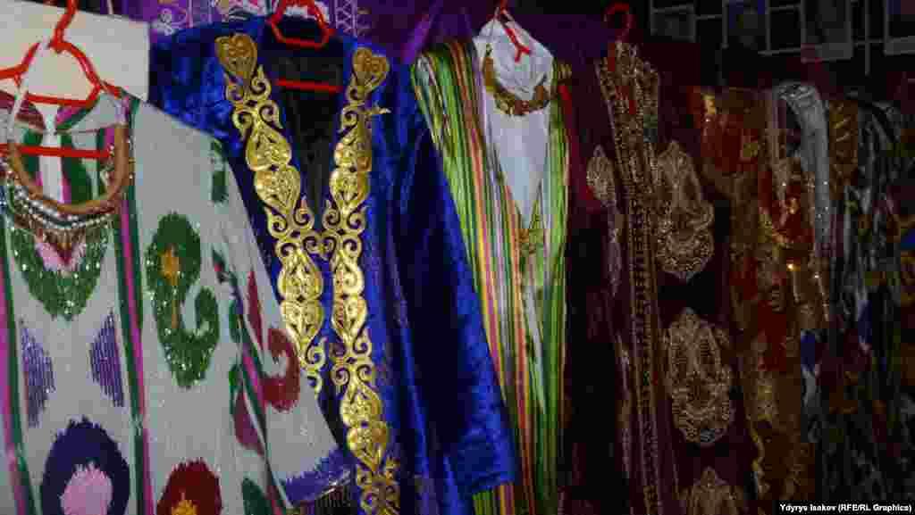 Узбекская национальная одежда.
