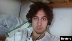 Бостон марафонындағы жарылысқа қатысты айыпталған Джохар Царнаев.