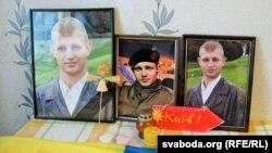 Дома ў бацькоў Жызьнеўскага. Партрэты Міхася