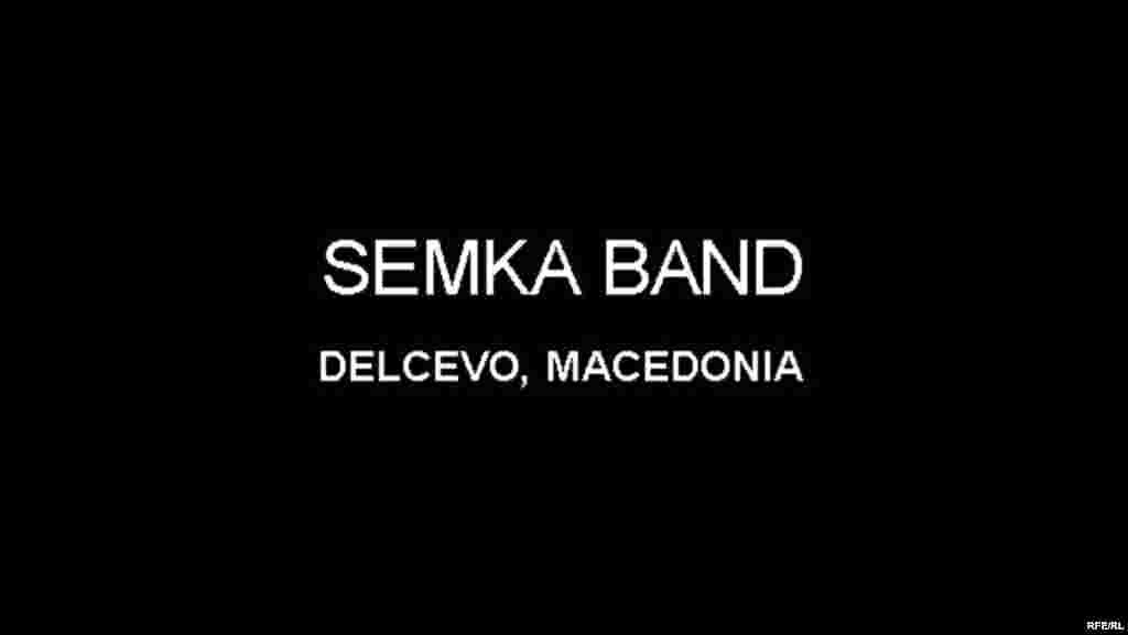 The Drummers Of Macedonia's Semka Band #40