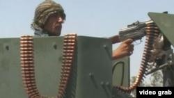 Авганистански полицаец.