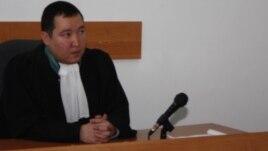 Судья Бостандыкского районного суда города Алматы Ералы Бекбаев.