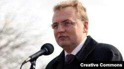 """Лидер """"Самопомощи"""" Андрей Садовой."""