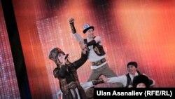 Танец кара жорго на концерте ко Дню независимости КР. Иллюстрация.