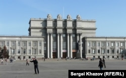 Отреставрированный театр оперы и балета в Самаре