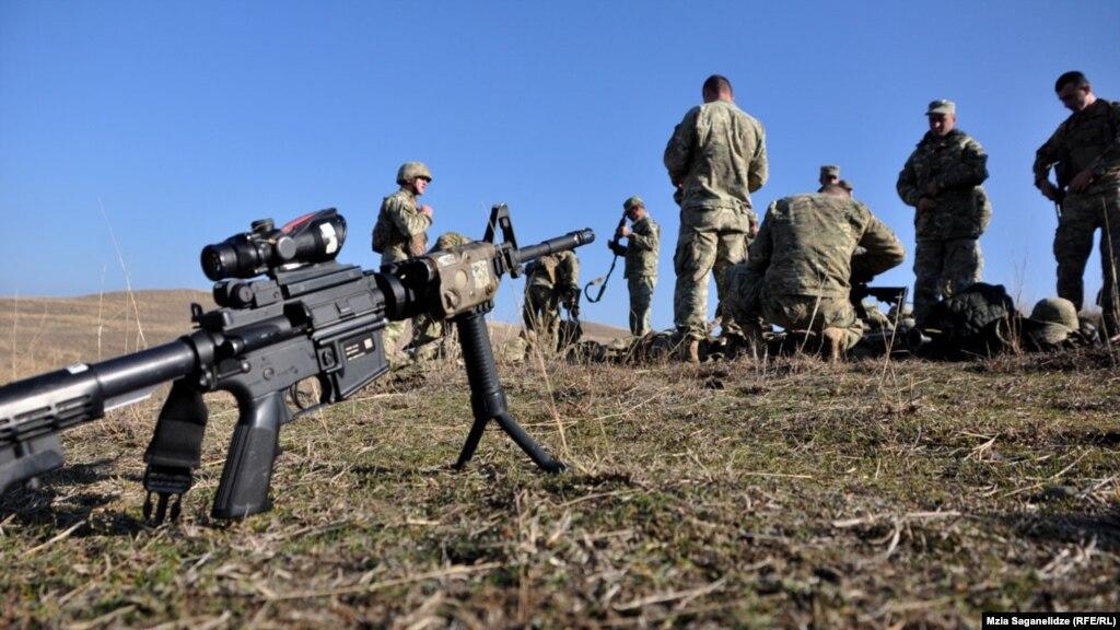 В 2017 году армия Грузии перейдет на
