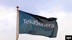 Швециянын TeliaSonera компаниясынын желеги