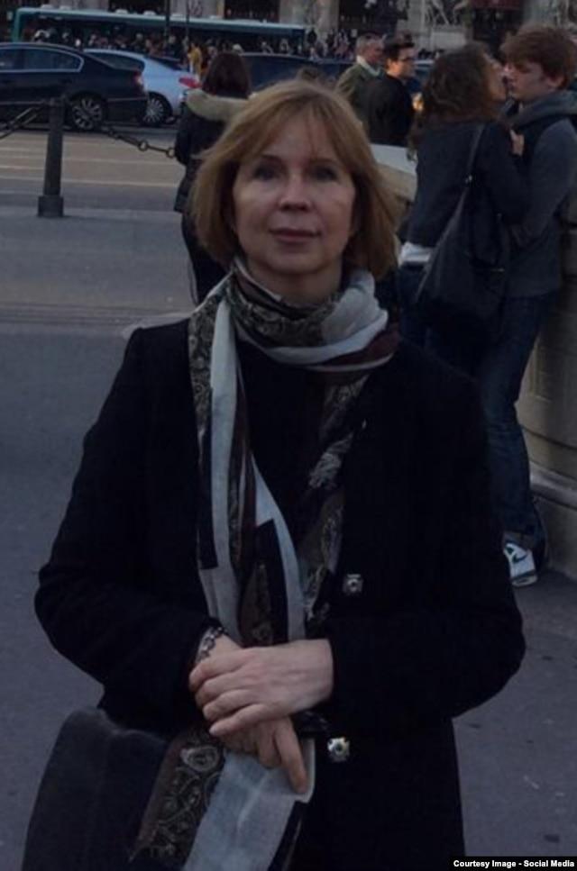 Во Франции, задолго до этих событий. Снимок из Фейсбука Ирины Довгань