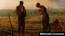 Жан Франсуа Міле, «Вячэрняя малітва» (1859)