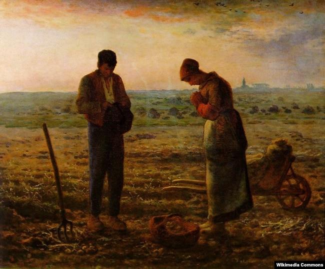 Жан Франсуа Міле «Вячэрняя малітва» (1859)