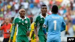 Фудбалери на Нигерија.