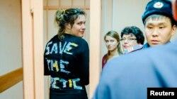 Одна зі звільнених у середу, активістка з Данії Анна Єнсен