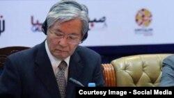 تادامچی یاماموتو نماینده خاص سر منشی سازمان مللمتحد در افغانستان