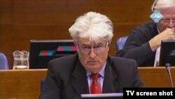 Radovan Karadžoć u sudnici Haškog tribunala