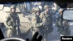 نیروهای آمریکایی در موصل (عکس از آرشیو)