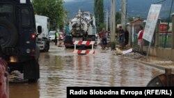 Vërshimet në Maqedoni