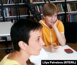 Ольга Мирясова и Наталья Кочнева
