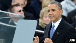 مراسم ادای سوگند باراک اوباما