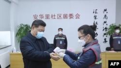 Xi Jinping vizitează un spital