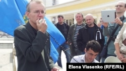 Олег Шеин на встрече с избирателями 12 апреля