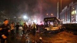 Ankara: Türkiýe partlamadan soň kürtleri bombalaýar