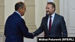 Lavrov i Izetbegović