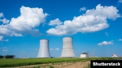 The Astravets nuclear power plant is only 50 kilometers from the Lithuanian capital, Vilnius. (file photo)
