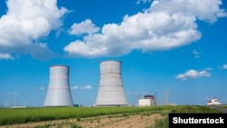 The Astravets atomic power station (file photo)