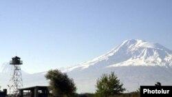 Наблюдательный пункт на армяно-турецкой границе