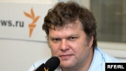Депутат Мосгордумы и лидер «Яблока» Сергей Митрохин