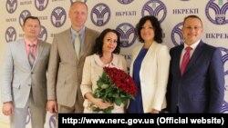 Оксана Кривенко (у центрі)