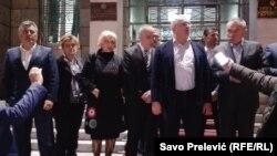 Poslanici opozicionog Demokratskog fronta (DF) su odlučili da noć i naredne dane provedu u sjedištu Skupštine Crne Gore