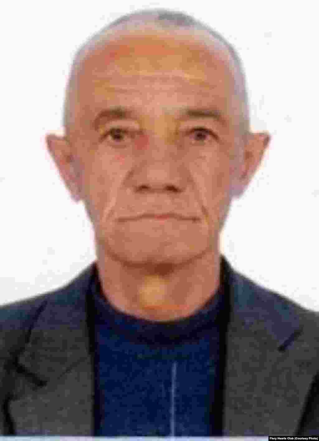 Bobomurod Razzakov, 61, is the head of the Bukhara office of Ezgulik. He was arrested on fabricated charges of human trafficking and sentenced to four years in prison in September 2013.