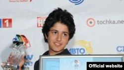 Armenia - Vladimir Arzumanian, winner of the the 2010 Junior Eurovision Song Contest, 20Nov2010.