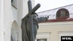Статуя гарадзенскага Катэдральнага касьцёлу