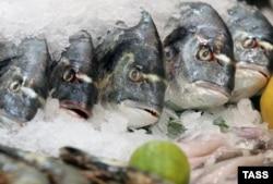 Рыба в розничной продаже