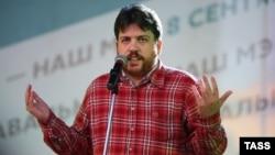 """Леонид Волков, один из представителей """"Парнаса"""" в сентябре 2013 года"""