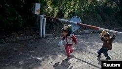 "Djeca migranata na ""Balkanskoj ruti"", arhiv"