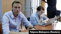 Алексей Навальный сот залында, 15-май, 2018-жыл