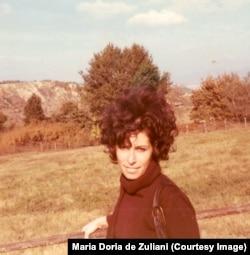 Мариолина Дориа де Дзулиани, Италия, март 1972