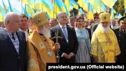 Після участі в заходах із нагоди річниці хрещення Русі-України 28 липня президента не бачили на публічних заходах